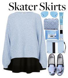 """Skater Skirt"" by chxncenjh ❤ liked on Polyvore featuring Rodebjer, Disney, rag & bone, Neutrogena, Revo, LeSportsac, Givenchy and skaterSkirts"