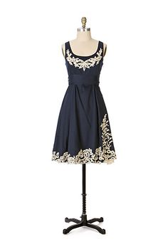 Yacht Club Dress #anthropologie