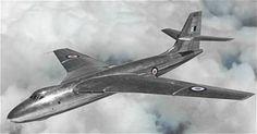 "The Vickers Valiant ""V"" bomber prototype, the Vickers Type 660 Vickers Valiant, Handley Page Victor, V Force, Avro Vulcan, Delta Wing, Plane Design, The Valiant, Air Space, Jet Plane"