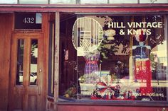 Hill Vintage and Knits Located in the Historic East Village of Des Moines, IA