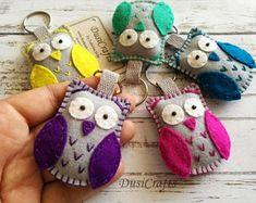 Felt owl bookmark personalized bookmark gift for teacher | Etsy