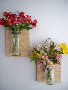 Frascos floreros colgantes/ Floating Vase