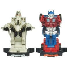 Transformers Dark Of The Moon Robo Power Bash Bots Autobot Optimus Prime Vs Deception Starscream *** Check out this great product.Note:It is affiliate link to Amazon.