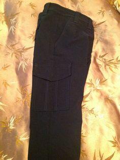 New Express Black Skinny Stretch Cargo Pants Size 4 $11.99