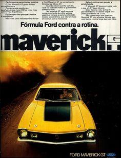 Anúncio Ford Maverick GT - 1973