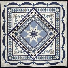 From Sue Garman's blog.  This quilt by Cynthia Clark a guild member.