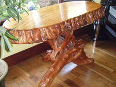 driftwood furniture on Pinterest