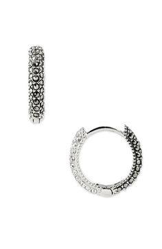 Judith Jack Reversible Hoop Earrings | Nordstrom Totally wanting these!