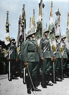 German military parade,maybe Hitler's 50 birthday