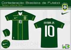 214aed6312 Washington Borges (3ª camisa clubes e seleção brasileira) Camisas De  Futebol