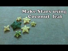 Go Green on this Christmas and make your own Star from Coconut leaf. Its really simple and u will be amazed to see the final result.. If you can't get Coconu...
