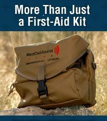 outfitter-kit-banner http://thesurvivalmom.com/2012/01/24/the-medcallassist-kit-medical-supplies-and-advice-all-in-one/
