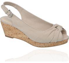 Graceland Wedge Slingback Sandals