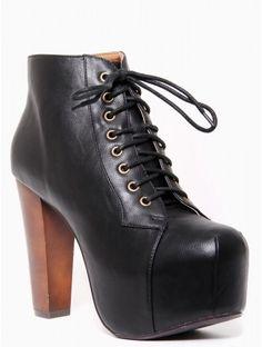 Platform Bootie #Shoes