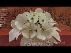 (102) Tutorial Fiori e foglie realizzati con nastro adesivo di carta - YouTube