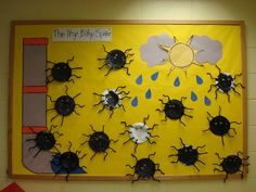 Trinity Preschool Mount Prospect: Willow Room- Itsy Bitsy Spider Art Project Picture