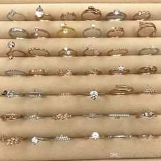 Bling Ring Princess Engagement Fashion Mix Rhinestone Gold Silver Wedding Rings For Women Girl Accessories Many ring size DHL - Patroniçem Silver Wedding Rings, Wedding Rings For Women, Diamond Wedding Bands, Bracelet Friendship, Ringe Gold, Gold Silber, Gold Ring Designs, Bling, Rings For Girls