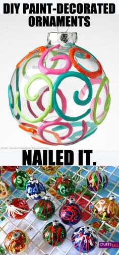 Swirl ornament - nailed it!