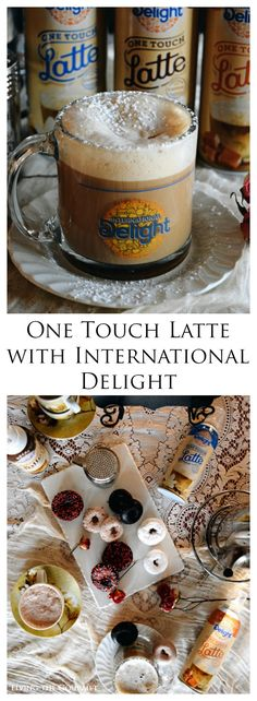 Living the Gourmet: One Touch Latte with International Delight | #LatteMadeEasy #AD @walmart @indelight