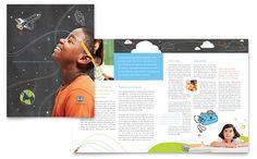 Education Foundation Brochure Template Design