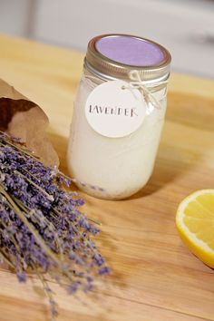 Lavender Exfoliating Scrub | HGTV >> http://www.hgtv.com/design/make-and-celebrate/handmade/diy-exfoliating-scrubs?soc=pinterest