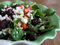 Beetroot & Butternut Salad, must try.