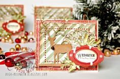 Cards by Olga / Christmas time paper collection by P13