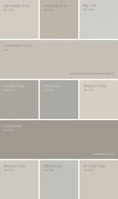 11 most amazing best gray paint colors Sherwin Williams. 11 most amazing best gray paint colors Sherwin Williams. Farmhouse Paint Colors, Exterior Paint Colors, Paint Colors For Home, House Colors, Paint Colours, Wall Painting Colors, Beige Paint Colors, Gray Exterior, Painting Doors