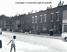 1964 - South Side Lambeth - since demolished