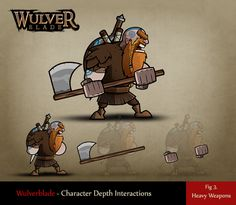 Fig 3. Heavy Weapons 2d Character Animation, Animation Reference, Character Drawing, Game Character, Character Concept, Character Design, Dinosaur Games, Graphics Game, 2d Game Art