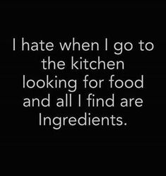 Most of the time I'm down to cook and create. Today isn't one of those days.