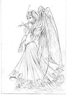 Soulfire 8 cover pencils by joebenitez.deviantart.com on @deviantART
