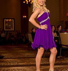 Purple Cocktail Dress. Find your perfect prom gown at Fancy Schmancy! 641 Loudon Rd., Latham, NY.  #ballgown #dress #holiday #highschool  #prom #prom2015 #fancyschmancy #upstateNY #latham #gorgeous #wedding #sparkle  #sexy #purple