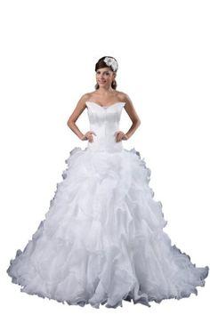 Orifashion White Strapless Drop Waist Ruffle Organza Wedding Dress BWGHER0346, US Size 0 Orifashion http://www.amazon.com/gp/product/B00E1CCCXQ/ref=as_li_qf_sp_asin_il_tl?ie=UTF8&camp=1789&creative=9325&creativeASIN=B00E1CCCXQ&linkCode=as2&tag=divinetreas03-20&linkId=PRX2RDBPRBLE5NDO