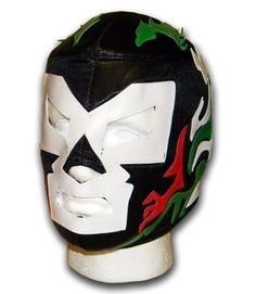 Doctor Wagner adult size Mexican Lucha libre wrestling mask by Luchadora. Doctor Wagner adult size Mexican Lucha libre wrestling mask.