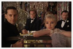 Film: The Great Gatsby, Baz Luhrmann, 2013  Actress Carey Mulligan