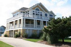 Semi-Oceanfront Outer Banks Rentals | Buck Island Rentals | Trading Winds