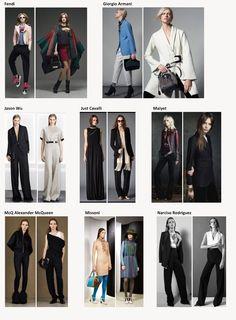 Preview of Fall-Winter 2015-2016 woman collections apparel, footwear and accessories. My favorite outfits by Fendi, Giorgio Armani, Jason Wu, Just Cavalli, Maiyet, McQ Alexander McQueen, Missoni, Narciso Rodriguez -------- i miei look preferiti dalle collezioni Autunno-Inverno 2015-2016, abbigliamento, accessori e scarpe donna