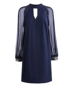 a mother of the bride dress Swing Dress With Chiffon Sleeves at Simply Be