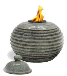 Pacific Dcor Rings Flame Pot 9 by 9 by 9Inch Sand ** Check out this great product. This Amazon pins is an affiliate link to Amazon.