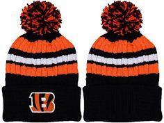 2017 Winter NFL Fashion Beanie Sports Fans Knit hat Nfl Denver Broncos 81fd4675fe05
