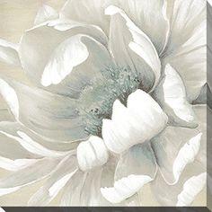 Winter Blooms II #FramedCanvasArt #InteriorDesign