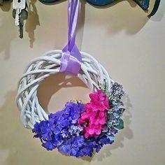 #wreath #spring #decorations #diy #handmade #outdoor #indoor #design #wiosna #Wielkanoc #easter #flowers #kwiaty #wianek #wieniec