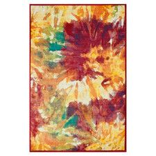Area Rugs - Primary Pattern: Floral & Plants, Style: Mid-Century | Wayfair