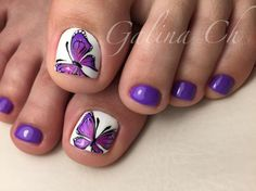 This Cool summer pedicure nail art ideas 69 image is part from 75 Cool Summer Pedicure Nail Art Design Ideas gallery and article, click read it bellow to see high resolutions quality image and another awesome image ideas. Pretty Toe Nails, Cute Toe Nails, Fancy Nails, Toe Nail Art, My Nails, Pretty Toes, Purple Toe Nails, Summer Toe Nails, Spring Nails