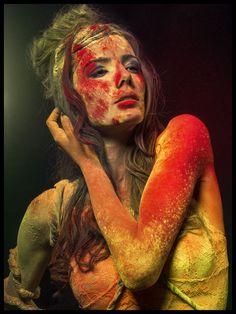 Hot Fashion Model Photography Inspiration for Holi Festival
