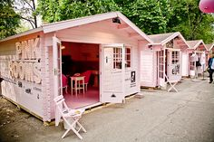 Pink Rooms - Milan designweek 2008 by vindesign, via Flickr....Wouldn't this make the cutest little weekend getaway if it were some place near an exotic beach or lagoon?