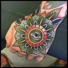 Mandala Hand tattoo by @juhopdc at Other Side Tattoo Collective in Lahti Finland #juhopdc #othersidetattoocollective #lahti #finland #handtattoo #mandalatattoo #tattoo #tattoos #tattoosnob