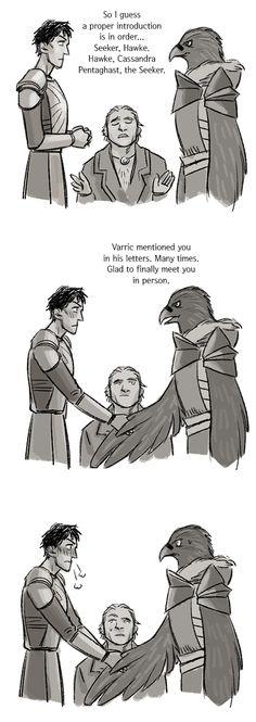 He meant Hawk