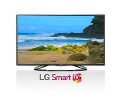 $1,699.00 LG Electronics 60LA6200 60-Inch Cinema 3D 1080p 120Hz LED-LCD HDTV with Smart TV and Four Pairs of 3D Glasses. LG's LA6200 has everything you want. Smart TV, Built-in Wi-Fi, a Dual Core Processor and Cinema 3D. All this with stunning picture quality with LED technology, Full HD 1080p and TruMotion 120Hz. -